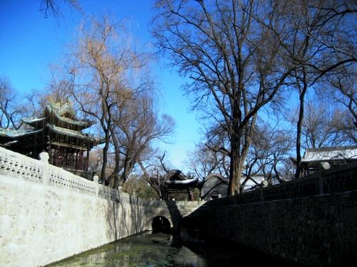 晋祠,山西,中国