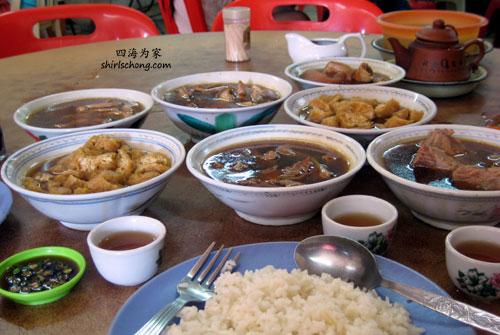 Bak Kut Teh at Klang, Malaysia (吧生肉骨茶,马来西亚)
