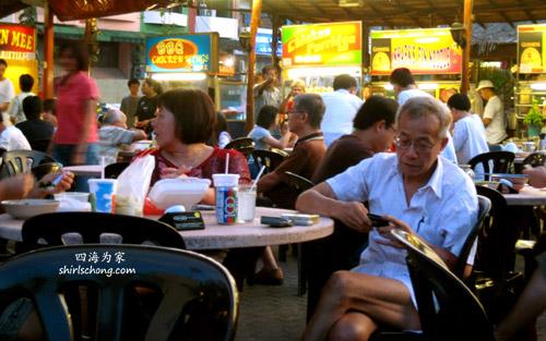 hawker stalls in Malaysia