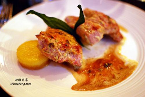 Dinner at Jamie Kennedy's Gilead Cafe, Toronto, Canada