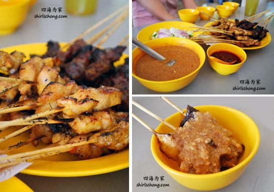 沙爹 - 30种必尝大马美食 (Satay - 30 Must Eat Malaysian Food)