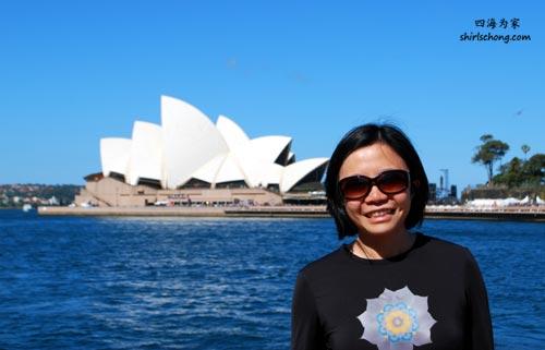 我与悉尼歌剧院