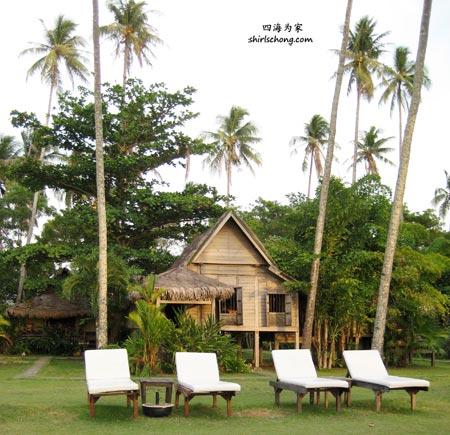 Kampung houses at Bonton Resort (Langkawi)