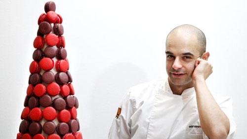 Adriano Zumbo 和他的macaron tower