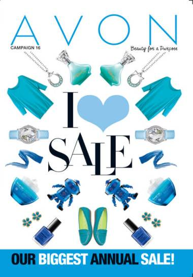 Avon I Heart Sale