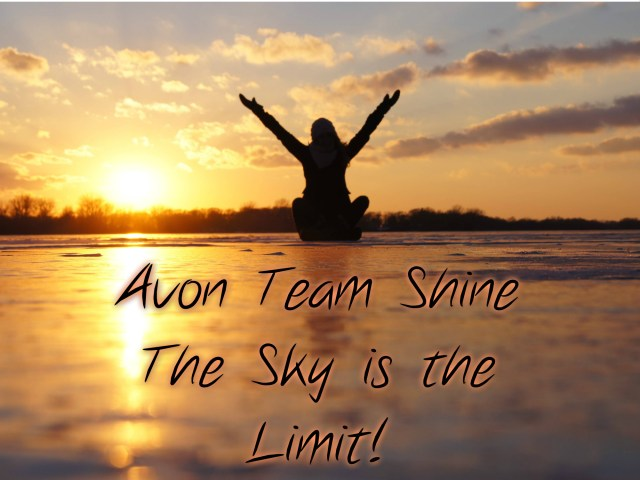 Avon Team Shine Campaign 7 Recognition