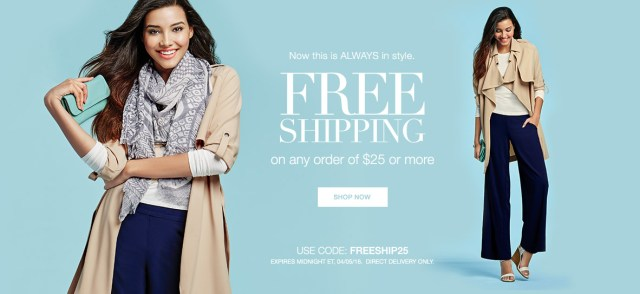 Avon Free Shipping Today