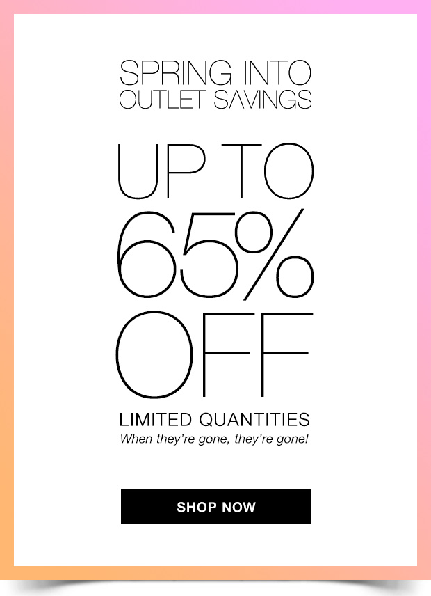 Avon Spring Outlet Savings