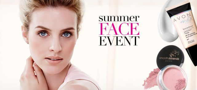 Avon Summer Face Event