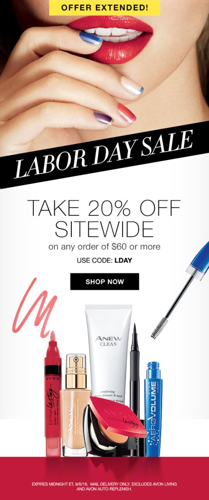 Labor Day Sale Extended