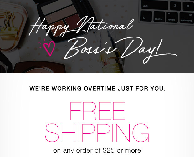 National Boss's Day Free Shipping