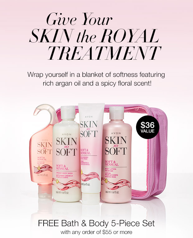 FREE Avon Bath and Body Gift