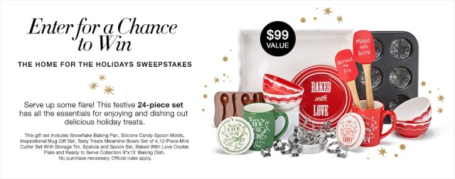 Avon Home for the Holidays Sweepstakes