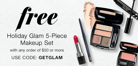 FREE Avon Holiday Glam 5-Piece Makeup Set