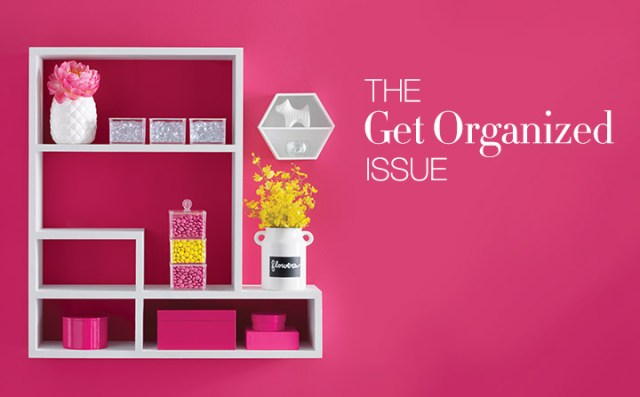 Avon Living The Get Organized Issue