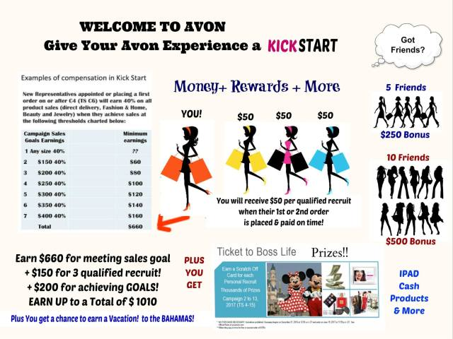 Become a Top Money Maker with Avon