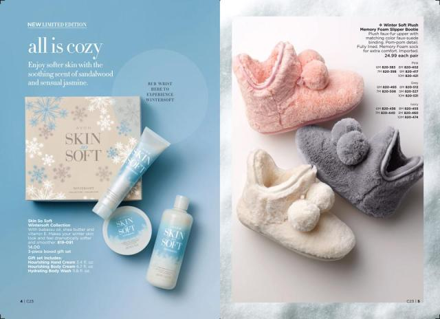 Avon Campaign 23 Wintersoft Collections