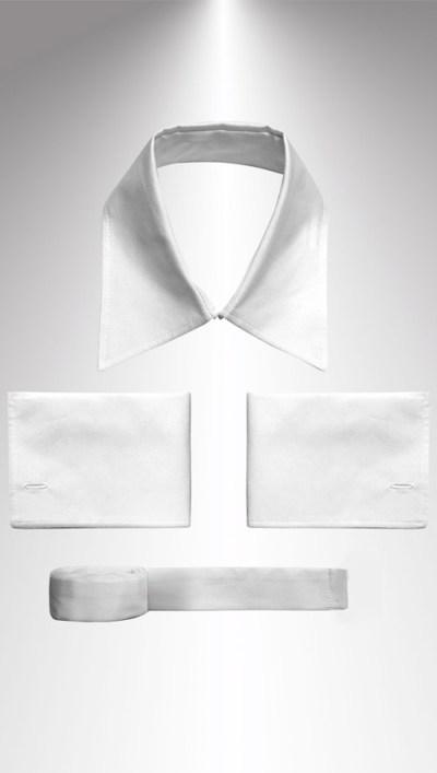 glans witte set