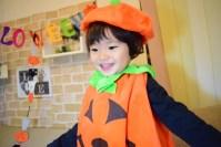 ハロウィンに使える!親子でチャレンジ!ビニール袋で簡単手作り衣装!!