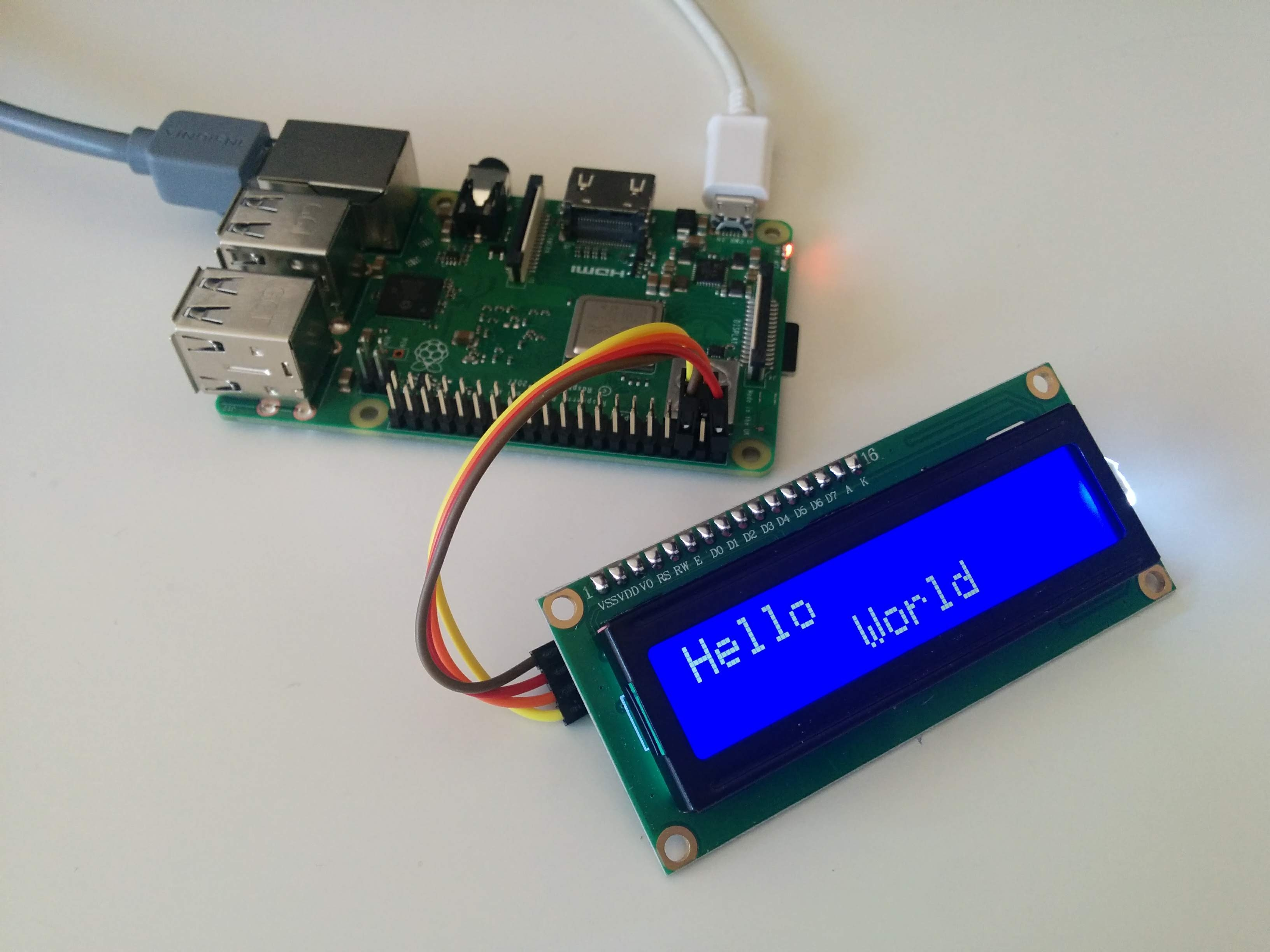 Using I2C LCD on Raspberry Pi | SHIROKU NET
