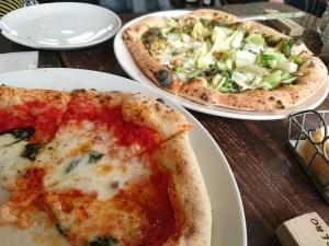 アルベロのピザ
