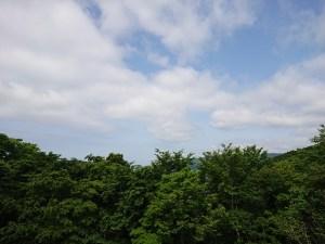 月の浦展望台からの眺め
