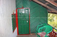 The bamboo sticks are widely used in partition wall.