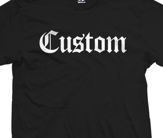 Custom Old English Loading Zoom