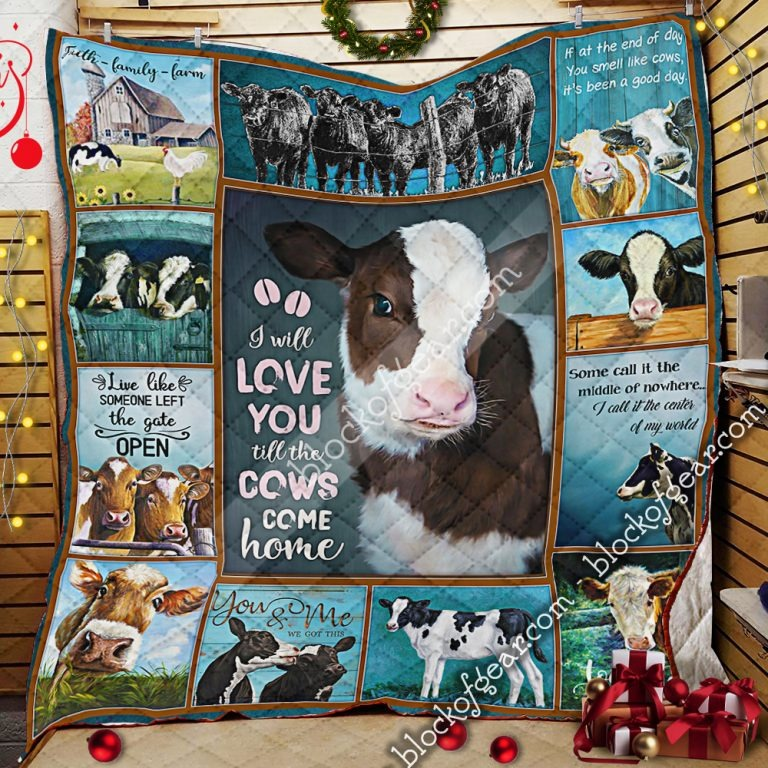 Download I will love you till the cow come home quilt