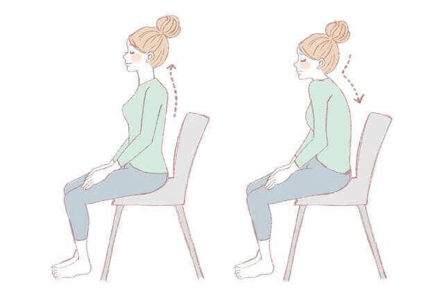姿勢を良くする椅子を買って猫背を治療