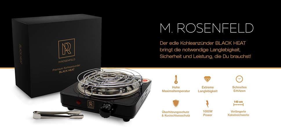 M.Rosenfeld Kohleanzünder