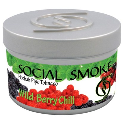 Social Smoke Wild Berry Chill 100 gr.