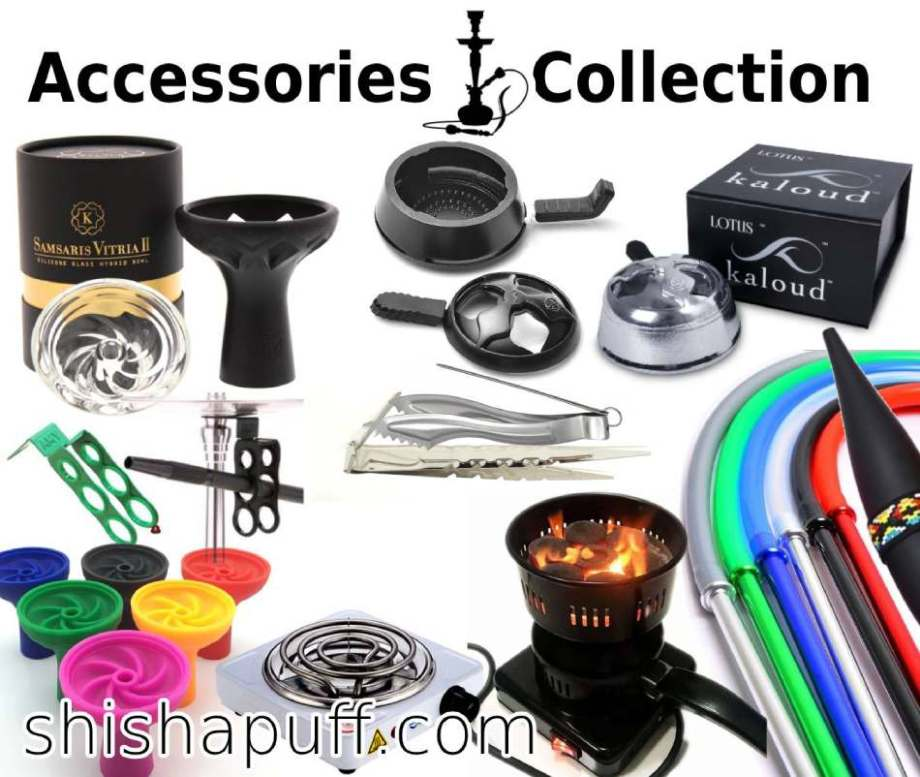 Shisha Accessories Parts Adaptors Collection Hot Plate Heater Carcoal Kaloud Head Silicone Hose Metal Aluminium Ceramic. Mout Tips Glass Ice Hose