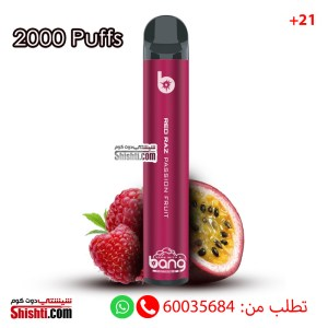 bang disposable 2000 puffs passion fruit