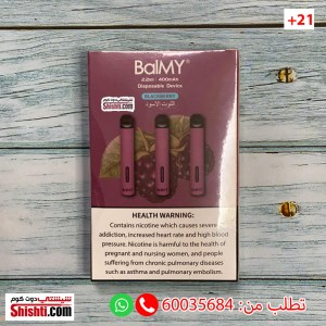 balmy disposable vape balmy black berries