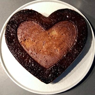 Cocos peer vanille cake