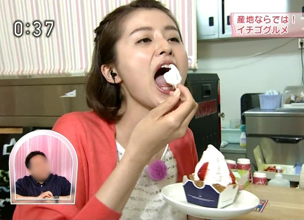 鈴木ちなみの食事舌 (4)