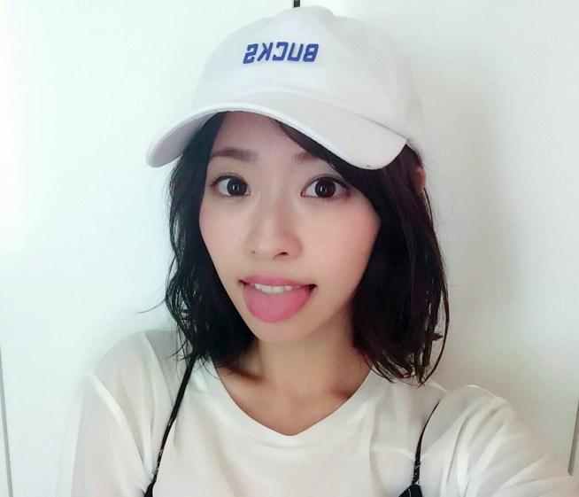 矢野目美有のぽってり舌 (9)