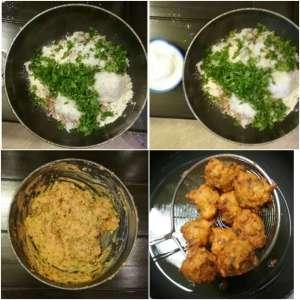 Bhajiya making