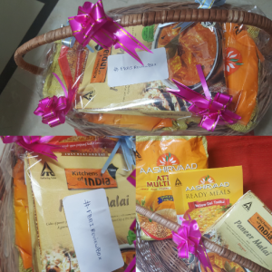 Gift hamper from Aashirvaad Multigrain Atta