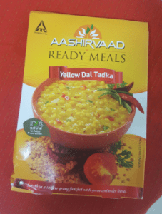 Aashirvaad ready meals