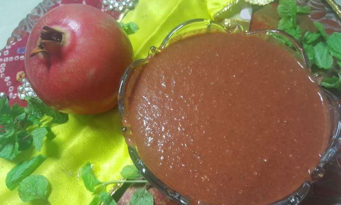 Chatpati Pomegranate Chutney
