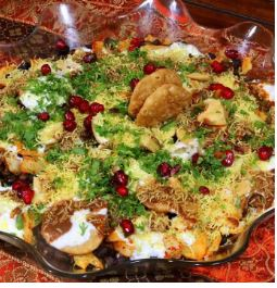 CHATPATTA CHANA CHAAT!!! with my Pomegranate Chutney