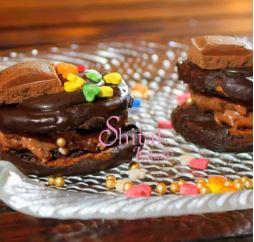 A Diwali Treat with Magic Chocolate Sandwich!!