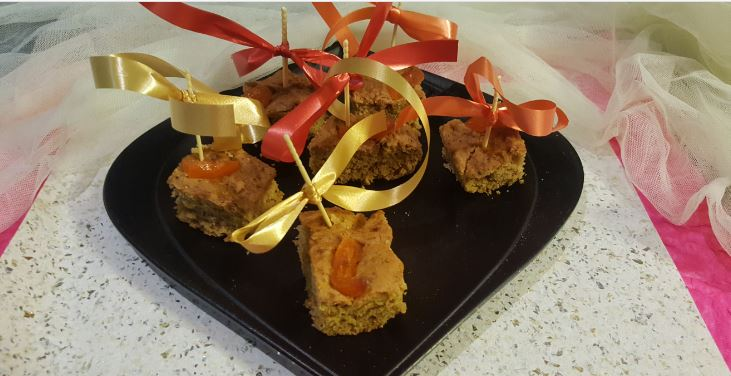 CANDIED ORANGE Jaggery GINGERBREAD !! Happy New Year 2018