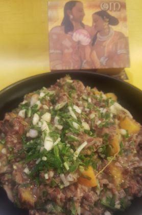 DHUNGARIYU KHICHDI !! Smoked Red Rice with Tandal & Pumpkin…
