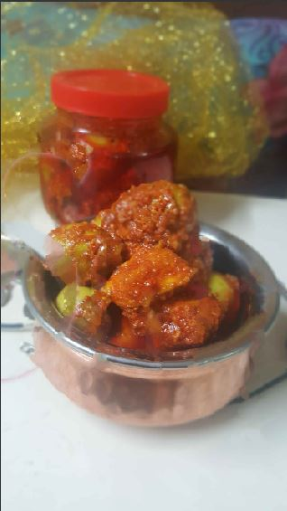 GUNDA KAIRI NU ATHANU !! Lasoda or the Bird Lime / Glue Berry Pickle