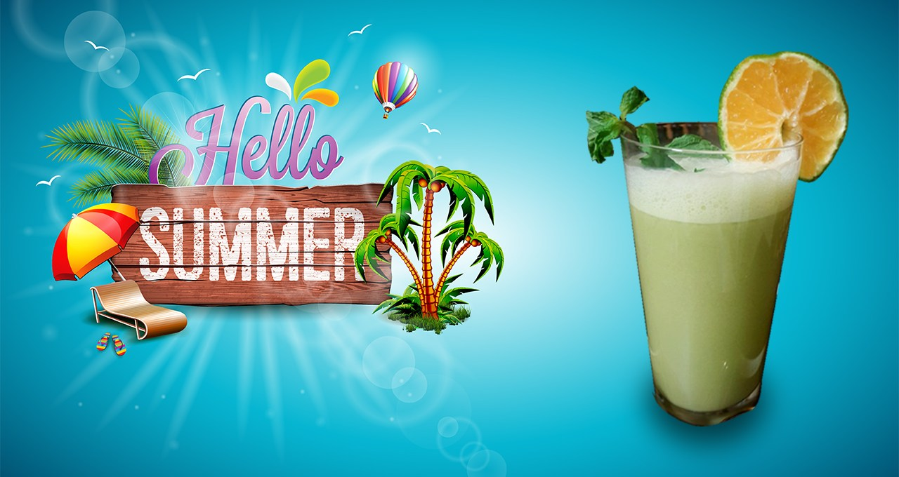 MINTY ORANGE COLADA !! Hello Summer