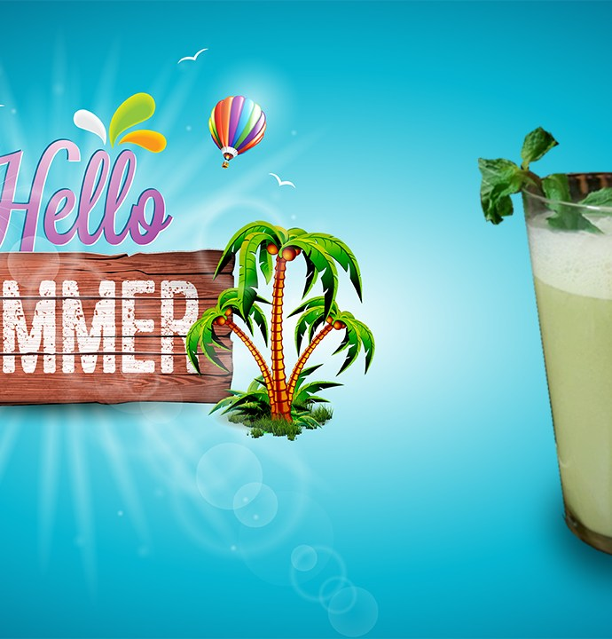 MINTY ORANGE COLADA !! Hello Summer