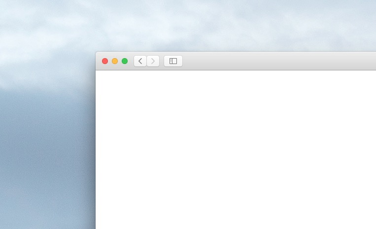 Split Viewの使い方 参考画像 ウィンドウ左上の緑の最大化ボタン